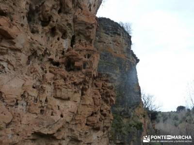 El Monasterio del Bonaval y el cañón del Jarama;senderismo cerca de madrid viajes de semana santa